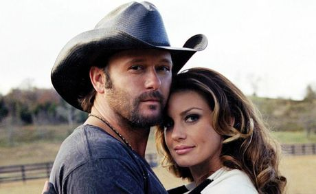 Tim McGraw and Faith Hill will headline CMC Rocks the Hunter 2012
