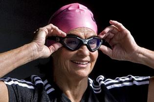 Pam Dickson has her dates to swim the English Channel 05 August 2011.