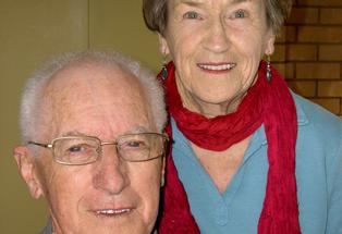 Bruce and Beverley Burgess.