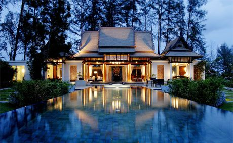 Banyan Tree Phuket&#39;s Double Pool Villas.