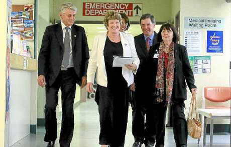 NSW Health Minister Jillian Skinner (centre) announced plans this week to remove all donor status from the licensing system as of November.