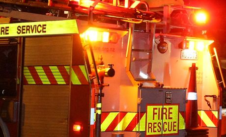 A Te Puke man suffered serious burns after a car explosion this morning.