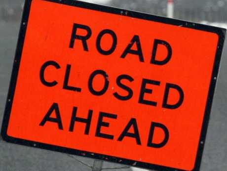 State Highway 36, the main road between Tauranga and Rotorua, was closed this morning because of severe ice.