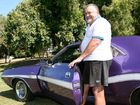 Carey Regan with his 1970 RT Dodge Challenger, which will be part of the third annual Mopars in Mackay All Chrysler Car Show at Casey Ave tomorrow.