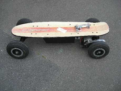 Is this your skateboard?