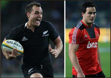 Israel Dagg and Zac Guildford are in the All Blacks World Cup squad.