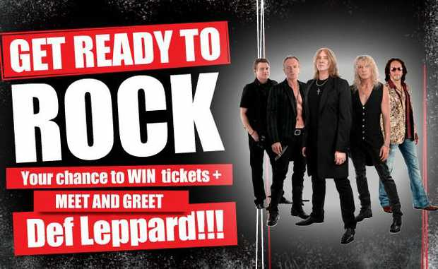 Your chance to meet & greet Def Leppard!