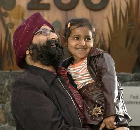 Jatinder Oberoi and his family migrated to Auckland in 2008.
