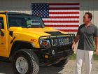 Arnold Schwarzenegger and his Hummer.