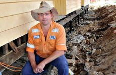 Woolooga Hall Committee president Brian Kabbatz is happy the community will get its hall back.