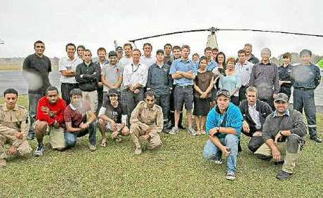 Members from Chopperline and Heli Centre are concerned that the development is a threat to the airport.
