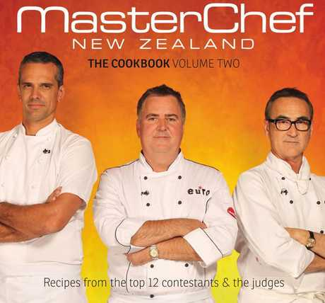 Cover for the MasterChef NewZealand: The Cookbook Volume Two.