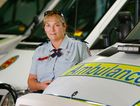 Advanced paramedic Lisa Arnold in the Rockhampton ambulance station.