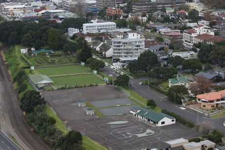 The Cliff Road site for a future Tauranga museum.