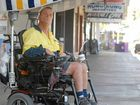 Ray Wegner, who has cerebral palsy, has been forced to have an alarm installed on his wheelchair after being assaulted by teenagers.