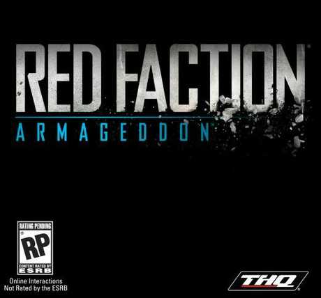 Cover for Red Faction Armageddon. Photo / Supplied