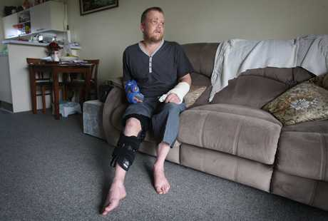 Paul Hollinshead suffered multiple injuries after falling from a boat while applying anti-slip paint.