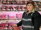 Toowoomba Plaza Coles meat packer Judith Thorp is preparing for an increase in customers after Coles slashed the prices of many popular meat products yesterday.