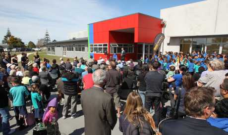 The new Arataki Community Centre was opened by mayor Stuart Crosby.