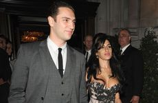 Reg Traviss and Amy Winehouse