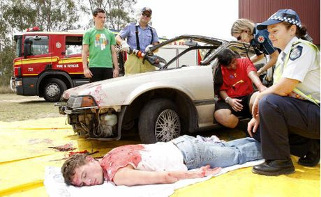 Car Crash Redbank Plains