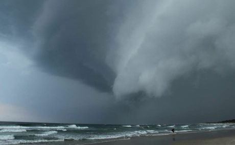 The Bureau of Meteorology has issued a severe storm warning for south-east Queensland.