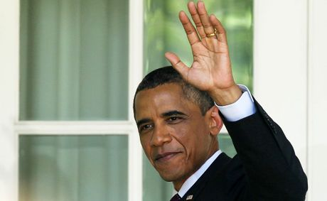Incumbent US President Barack Obama.