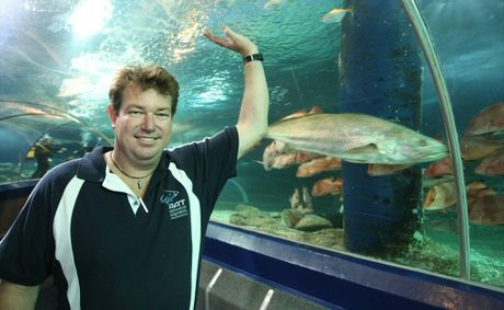 John Langmead of Advanced Aquarium Technologies, which was recently named the state's regional exporter of the year.