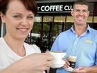 COFFEE CLUB: Karyn Hjelmstrom and Jason Kenny are keen to ease your caffeine-withdrawal jitters.