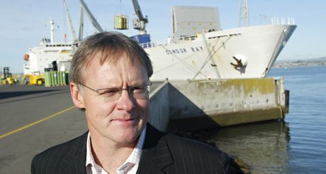 Mark Cairns, Port of Tauranga chief executive.