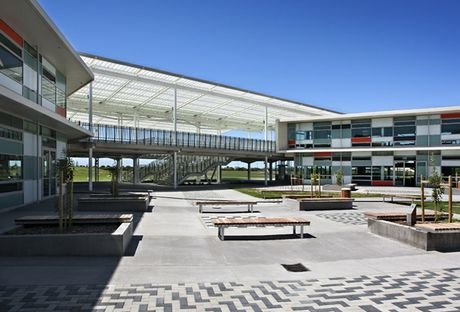 Papamoa College, by ASC Architects.