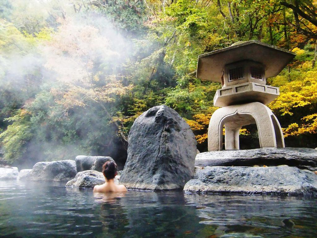 Baños Japoneses Onsen:Japanese Onsen