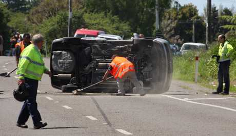 Fatal crash on SH2 just south of Te Puke.