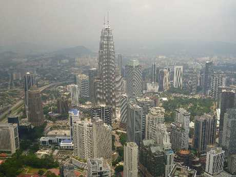 Kuala Lumpur's stunning cityscape includes modern wonders like the Petronas Towers. Photo / Supplied