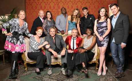 The star-studded cast of Celebrity Apprentice Australia.