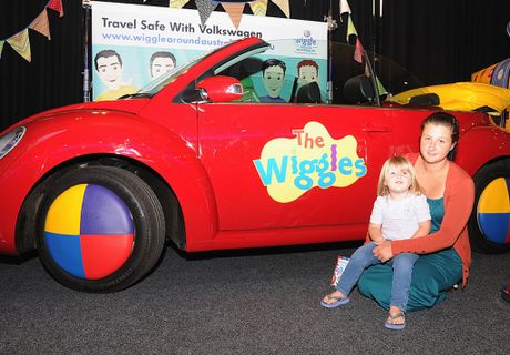 The Wiggles&squot; Big Red Car was sold at auction.