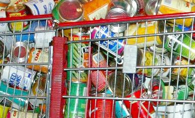 Each can or grocery item donated is being valued at $1.50.