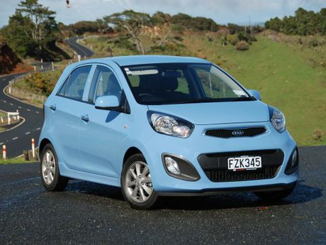 Demand for the Kia Picanto is outstripping supply only a few months into its release. Photo / Supplied