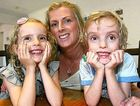 Coolum mum Aimee Morgan had her three-year-old twins Bella and Hudson prematurely. She said it was a terrifying time for her and her husband.