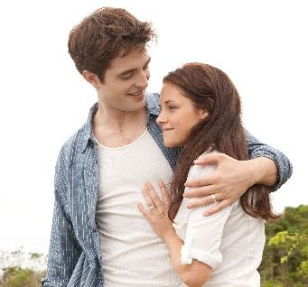 Robert Pattinson and Kristen Stewart develop their relationship further in the latest Twilight movie. Photo / Supplied