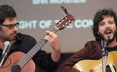 Folk comedy duo Flight Of The Conchords is coming to Australia in July.