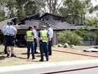 A fire destroyed a house on George Holt Drive, Mt Crosby on Tuesday.