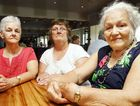 Pictured from left, Robyn Halliday, 66, Jean Orchard, 67, and Natalie Harris , 88, are unhappy with the proposal to increase federal politicians pay.