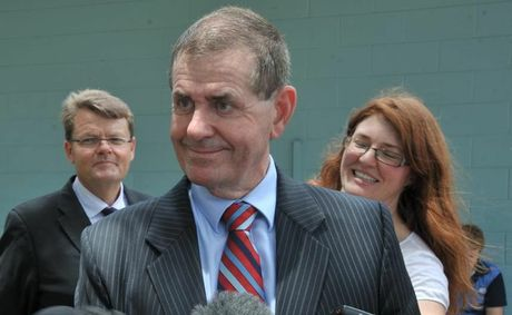 Peter Slipper at Kawana Waters State College.