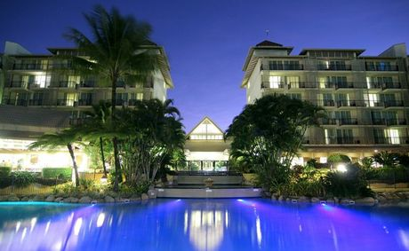Novotel Cairns Oasis Resort.