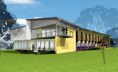 Artist's impressions of the CQUniversity public access allied health clinic which is already under construction but will benefit from an expansion due to additional government funding.