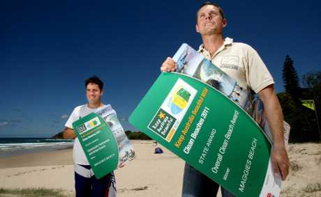Cabarita Beach won the Clean Beaches Award last year. John Gass