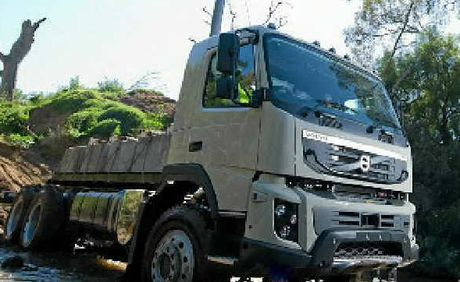 CHANGES: The Volvo FMX has new robust styling.