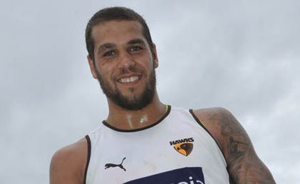 Hawk superstar Lance Franklin turned it on against the Kangaroos.