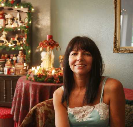 Karen Taylor collects Christmas decorations and loves the magic of the festive season.